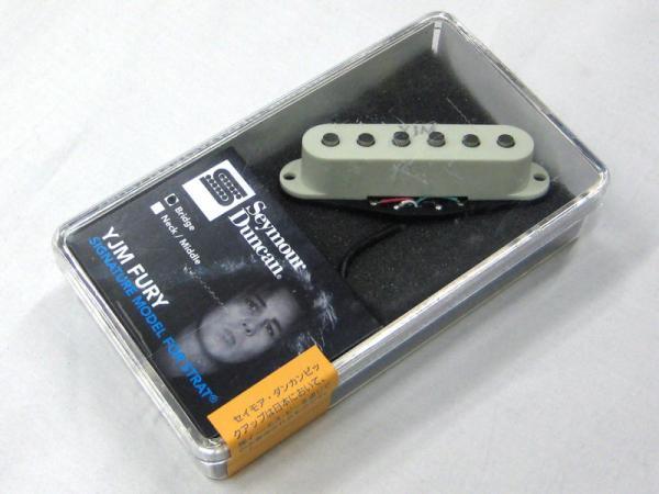 Seymour Duncan ( セイモアダンカン ) YJM Fury Bridge ( STK-S10b ) / Off-White Cover < イングヴェイ・シグネネイチャーPU! >