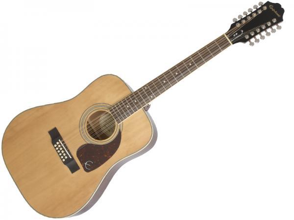 EPIPHONE ( エピフォン ) DR-212(NAT)【by ギブソン 12弦 アコースティックギター 】
