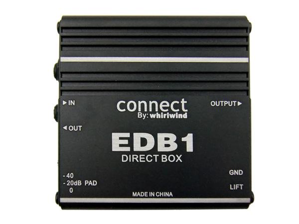 Whirlwind EDB1 ◆ ダイレクトボックス
