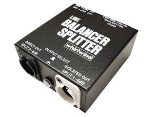 Whirlwind LINE BALANCER/SPLITTER ◆ スプリッター