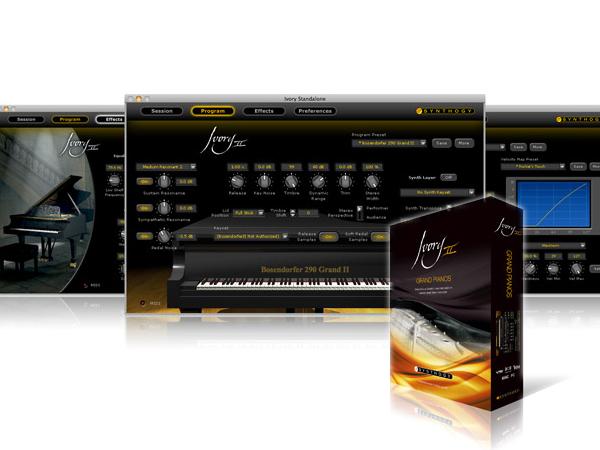Synthogy ( シンソジー ) Ivory II Grand Pianos ◆【安心の国内正規代理店取扱い商品】