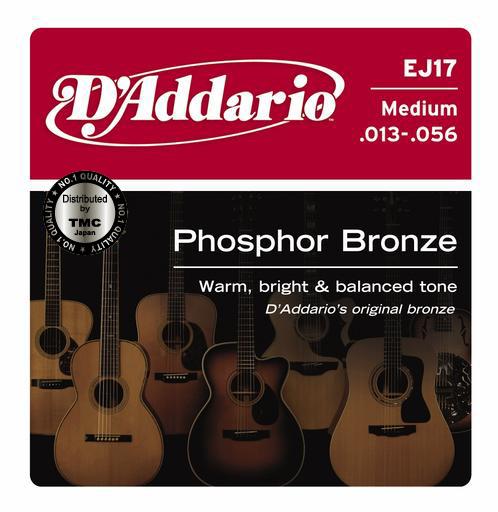 D'Addario ( ダダリオ ) EJ17【アコギ弦】