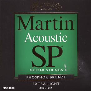 Martin ( マーチン ) MSP4000【アコギ弦】