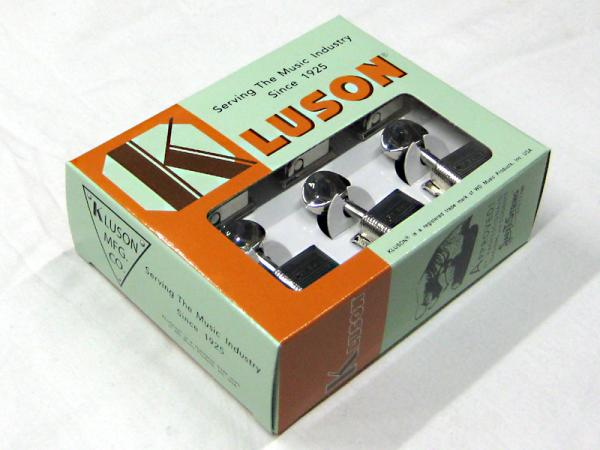Kluson 6 in line / Metal Buttons / Nickel < for Fender ST / TL etc. >