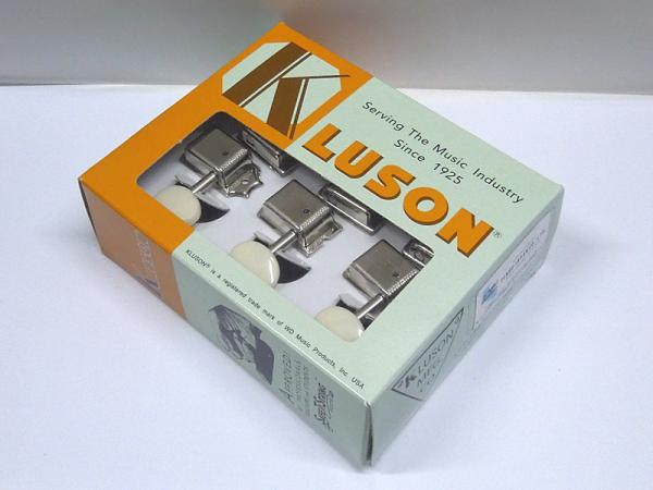 Kluson 6-in-Line Plastic Buttons / Nickel < for Fender MG / DS etc. >
