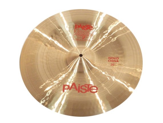 "Paiste ( パイステ ) 2002 NOVO China 20"" ☆ ノボチャイナ"
