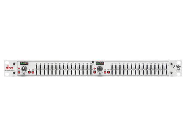 DBX ( ディービーエックス ) 215S  ◆ 2ch 15バンド イコライザー