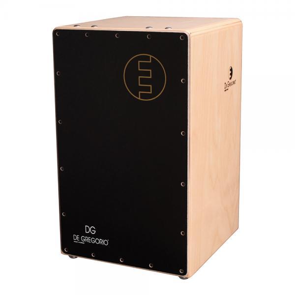 DeGregorio ( DG ) Chanela[ ブラック ]CAJON カホン ダブルスネア ◆ ソフトケース(CJB-1E)を限定プレゼント!