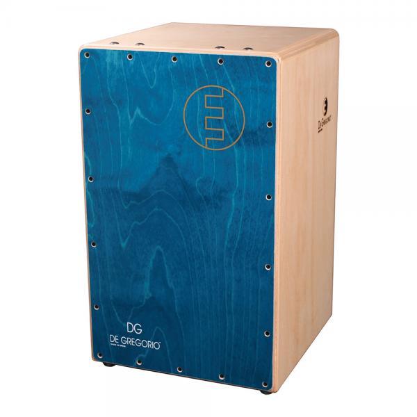DeGregorio ( DG ) Chanela [ ブルー ]◆カホン ダブルスネア ◆ ソフトケース(CJB-1E)を限定プレゼント!
