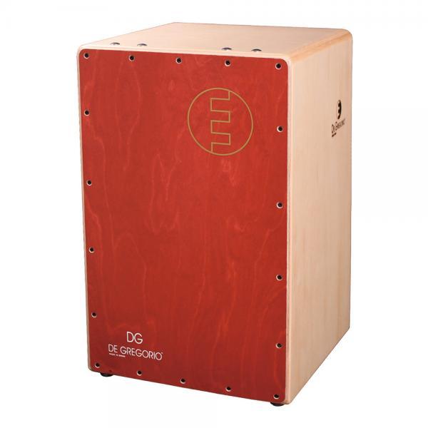 DeGregorio ( DG ) Chanela [ レッド ]◆カホン ダブルスネア ◆ ソフトケース(CJB-1E)を限定プレゼント!