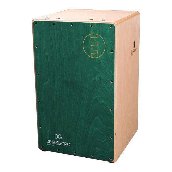 DeGregorio ( DG ) Chanela [ グリーン ]CAJON カホン ダブルスネア ◆ ソフトケース(CJB-1E)を限定プレゼント!