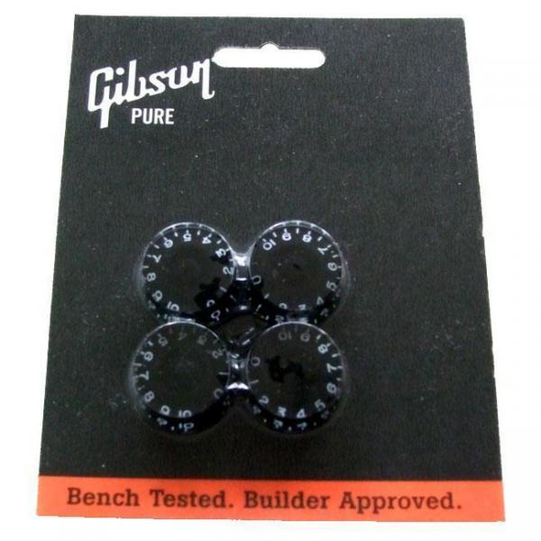 Gibson ( ギブソン ) PRSK-010: Speed Knobs - Black 4/Pkg
