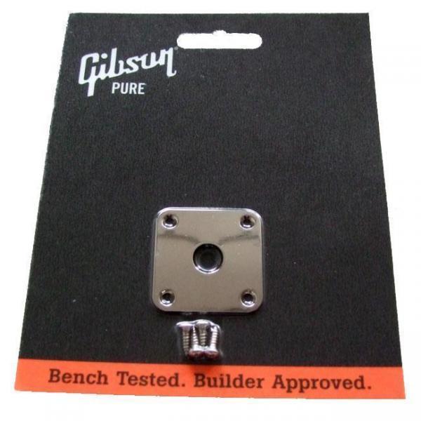Gibson ( ギブソン ) PRJP-040: Jack Plate - Nickel