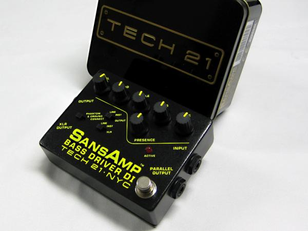 Tech21 ( テック21 ) SansAmp Bass Driver DI