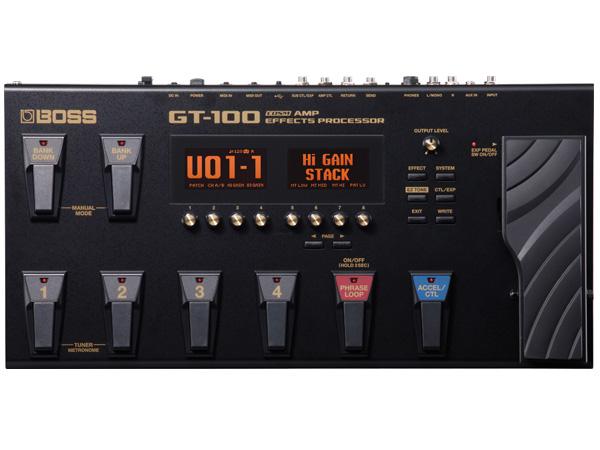 BOSS ( ボス ) GT-100 ◆ ボス マルチエフェクター COSMテクノロジー搭載