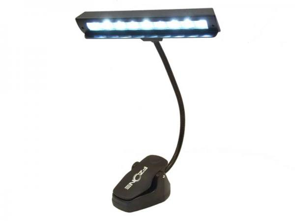 FZONE FL-9028 ◆ クリップ式ライト ( 9×高輝度LED ) 中型