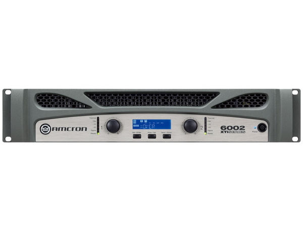 AMCRON ( アムクロン ) XTi6002 ◆ パワーアンプ ・1200W+1200W 8Ω ・C型コネクター電源ケーブル