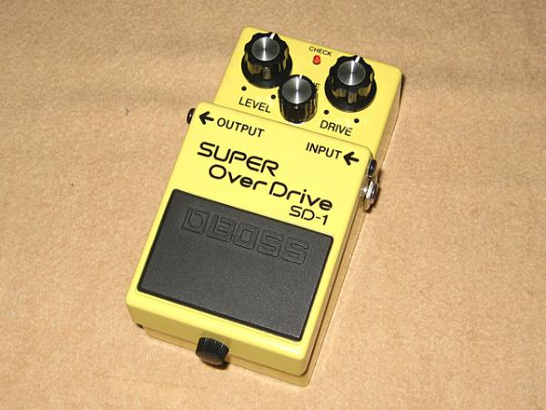 BOSS ( ボス ) SD-1【SUPER OverDrive】