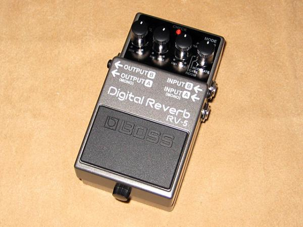 BOSS ( ボス ) RV-5【Digital Reverb】