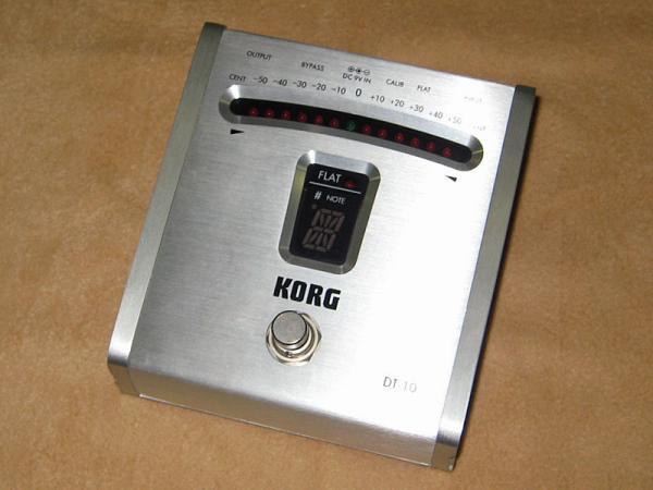 KORG ( コルグ ) DT-10【DIGITAL TUNER】