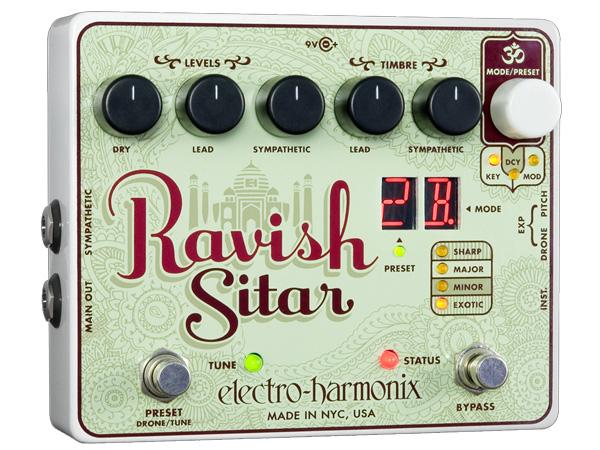 Electro Harmonix ( エレクトロハーモニクス ) Ravish Sitar 【ラヴィッシュ シタール 】