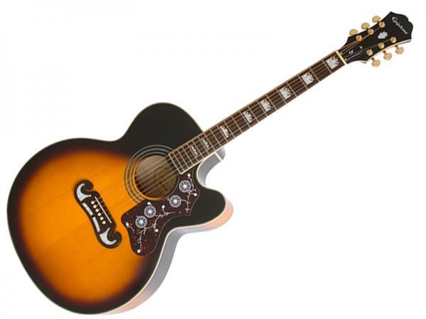 EPIPHONE ( エピフォン ) EJ-200SCE(VS) 【 アコースティックギター エレアコ  】