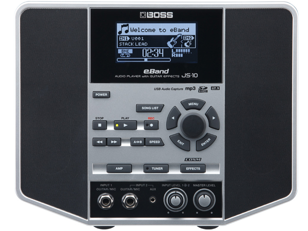 BOSS ( ボス ) eBand JS-10 ◆ AUDIO PLAYER with GUITAR EFFECTS