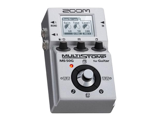 ZOOM ( ズーム ) MS-50G ◆ MULTISTOMP マルチエフェクト型 1台に多彩なエフェクトを搭載!