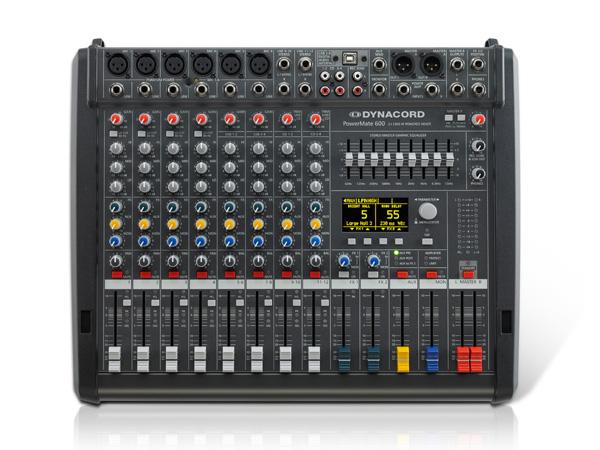 DYNACORD ( ダイナコード ) PowerMate600-3 ◆ パワードミキサー ・1000W+1000W 4Ω PM600-3