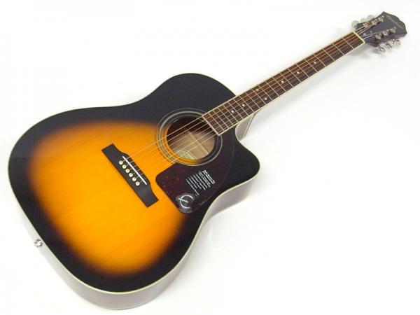 Epiphone ( エピフォン ) AJ-220SCE(VS)【 by ギブソン アコースティックギター エレアコ】