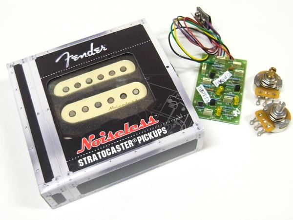 Fender USA ( フェンダーUSA ) Vintage Noiseless Stratocaster Pickup &Eric Clapton MID Booster セット