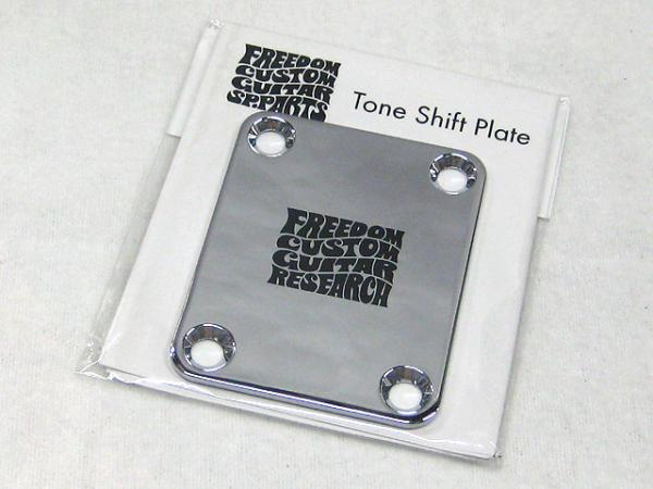 Freedom Custom Guitar Research Tone Shift Plate 3mm Chrome / SP-JP-03