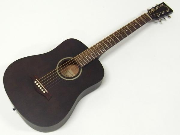 S.Yairi ( エスヤイリ ) YM-02(BK)【コンパクト アコースティックギター ミニアコギ 】