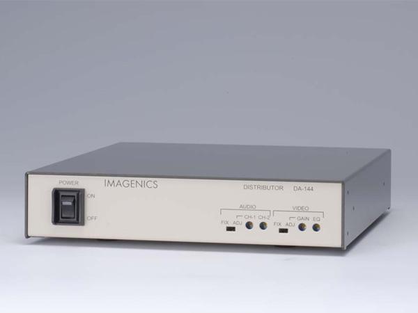 IMAGENICS ( イメージニクス ) DA-144 ◆ 映像・音声1入力4分配器。