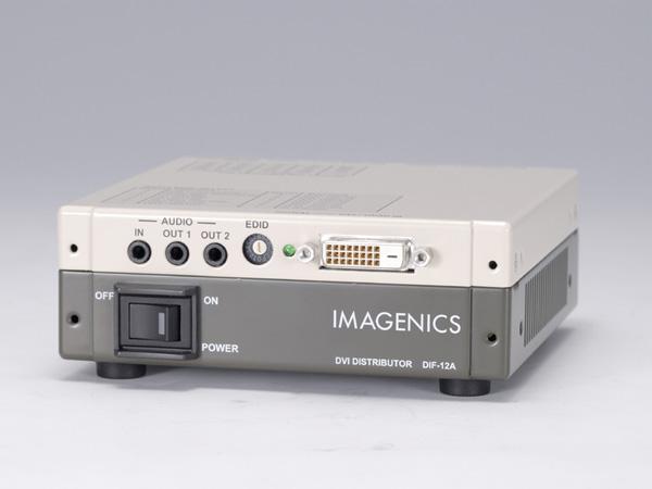 IMAGENICS ( イメージニクス ) DIF-12A ◆ 1入力2出力 DVI分配器(HDCP対応)