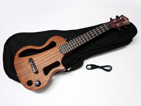 MAHALO ( マハロ ) EUK-200 ◆ ソリッドボディ ウクレレ [ SOFT CASE 付属 ]