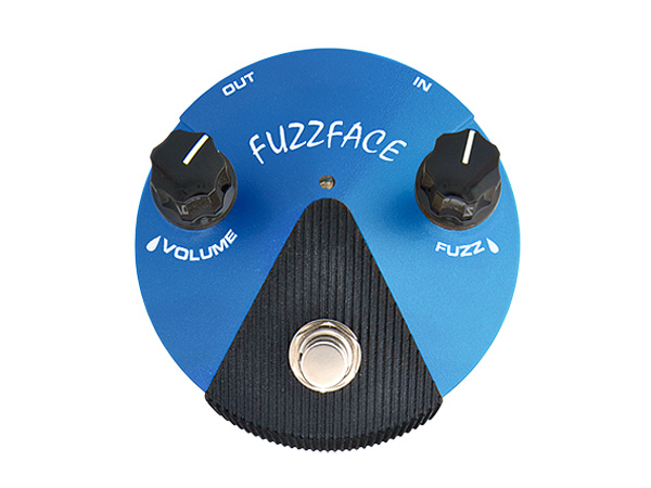 Jim Dunlop ( ジムダンロップ ) Fuzz Face Mini Silicon  FFM-1 ◆ ミニ・ファズフェイス