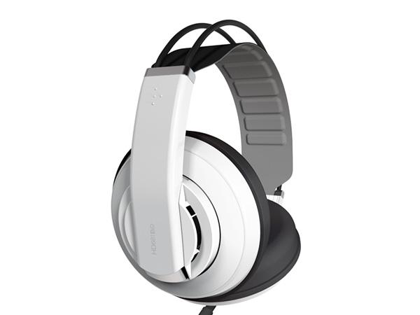 Superlux ( スーパーラックス ) HD681EVO/W ◆ WHITE モニターヘッドホン