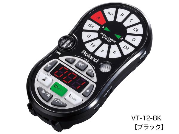 Roland ( ローランド ) VT-12-BK【 Vocal Trainer ボーカルトレーナー】