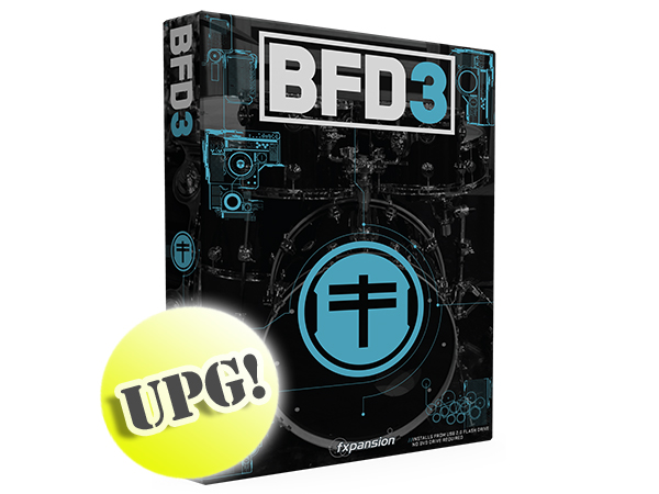 fxpansion ( エフエックスパンション ) BFD3 Upgrade from BFD2 (Download) ◆ ダウンロード版