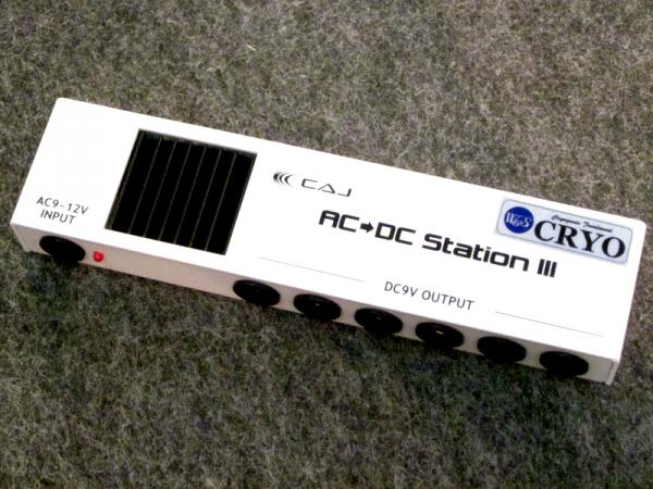 W&S CRYO ( ダブルアンドエスクライオ ) CUSTOM AUDIO JAPAN  AC/DC STATION III