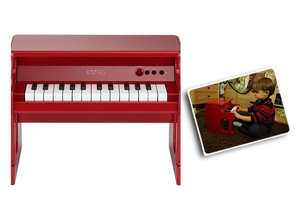 KORG ( コルグ ) tinyPiano RD(レッド)◆ デジタル・トイ・ピアノ