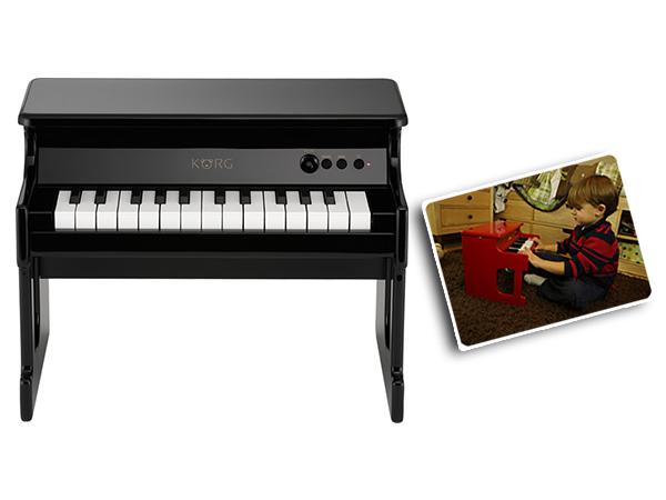 KORG ( コルグ ) tinyPiano BK(ブラック)◆ デジタル・トイ・ピアノ