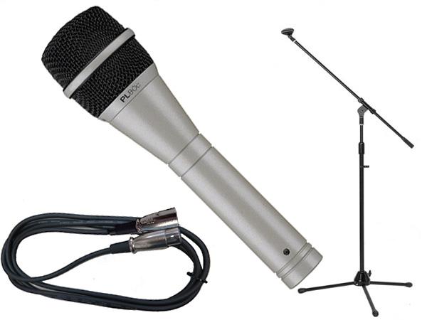 Electro-Voice ( EV エレクトロボイス ) PL80c 選べるマイクスタンドSET
