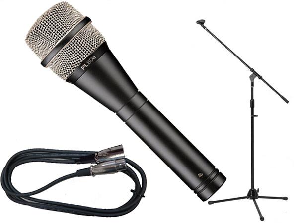 Electro-Voice ( EV エレクトロボイス ) PL80a 選べるマイクスタンドSET
