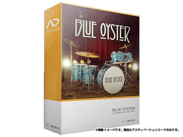 xlnaudio ( エクスエルエヌ オーディオ ) Addictive Drums 2:  Blue Oyster