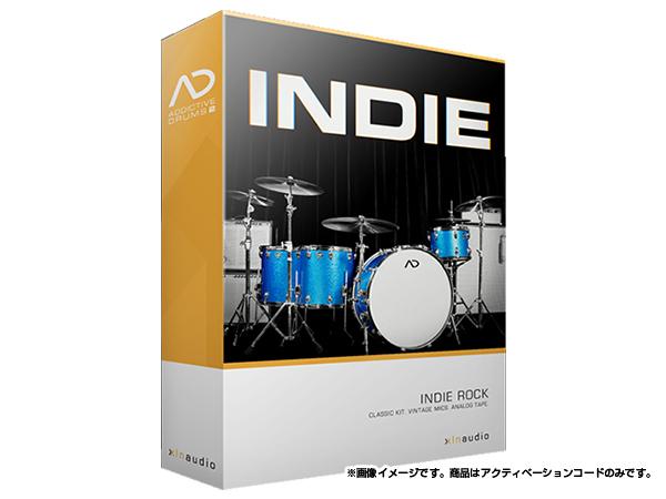 xlnaudio ( エクスエルエヌ オーディオ ) Addictive Drums 2:  Indie ◆【ADpak】【ダウンロードコード商品】