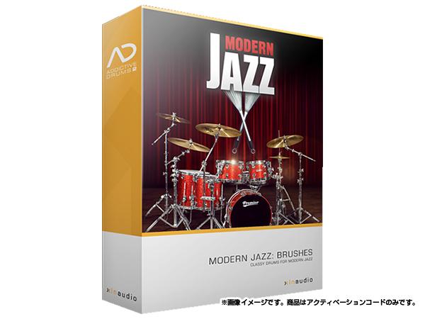 xlnaudio ( エクスエルエヌ オーディオ ) Addictive Drums 2:  Modern Jazz Brushes ◆【ADpak】【ダウンロードコード商品】