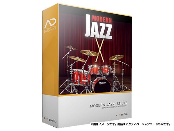 xlnaudio ( エクスエルエヌ オーディオ ) Addictive Drums 2:  Modern Jazz Sticks  ◆【ADpak】【ダウンロードコード商品】