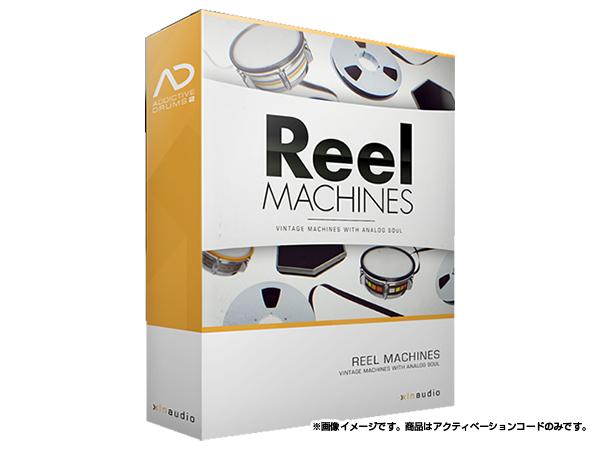 xlnaudio ( エクスエルエヌ オーディオ ) Addictive Drums 2:  Reel Machines  ◆【ADpak】【ダウンロードコード商品】